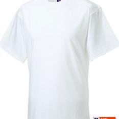 T-shirt Russell blanc