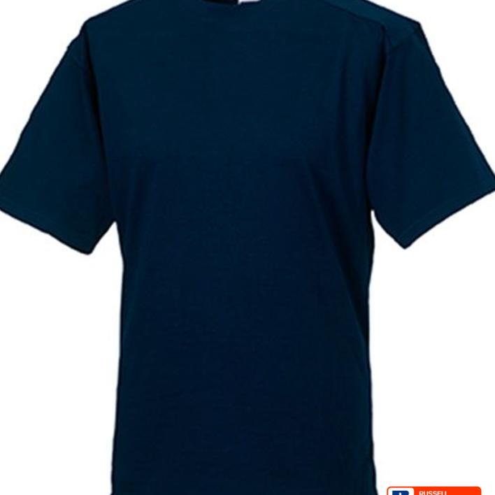 T-shirt Russell Bleu